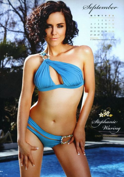 Calendar with Hollyoaks Babes (13 pics)