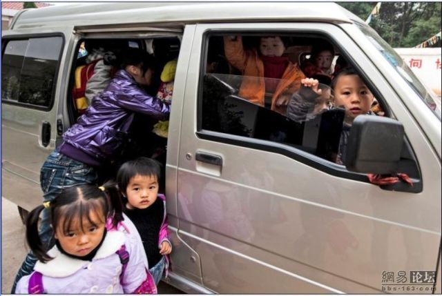 Chinese Child Transportation (6 pics)