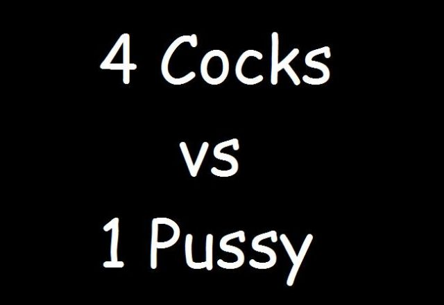 Four Cocks One Pussy 95