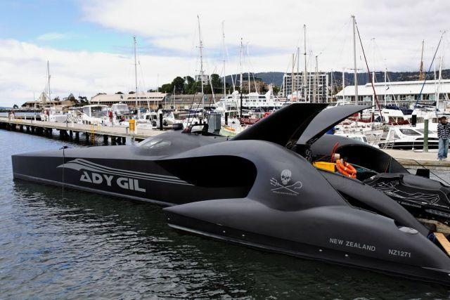 Ady Gil vs. Whalers (16 pics)