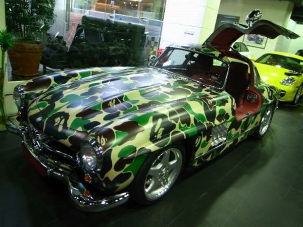 Military Camouflage of Supercars (14 pics)