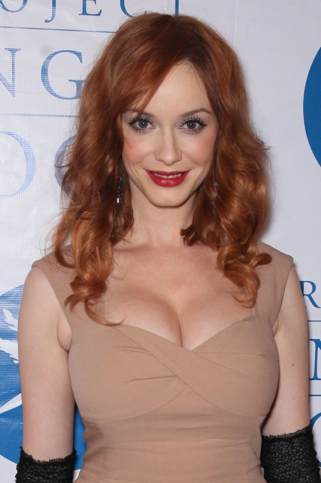 Charming Christina Hendricks (7 pics)