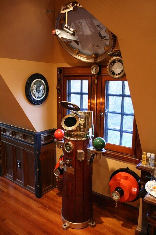 Awesome Steampunk House (23 pics)