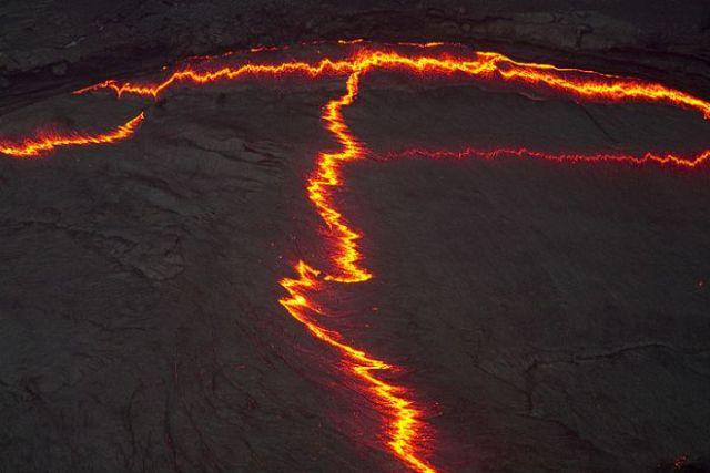 The Lava Lake of Erta Ale Volcano in Ethiopia (28 pics)
