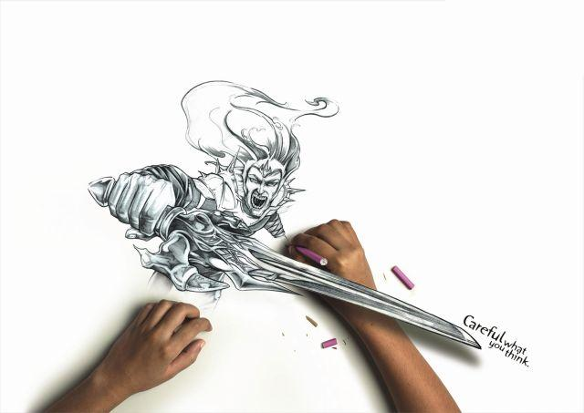 A Series of Awesome Drawings (5 pics)