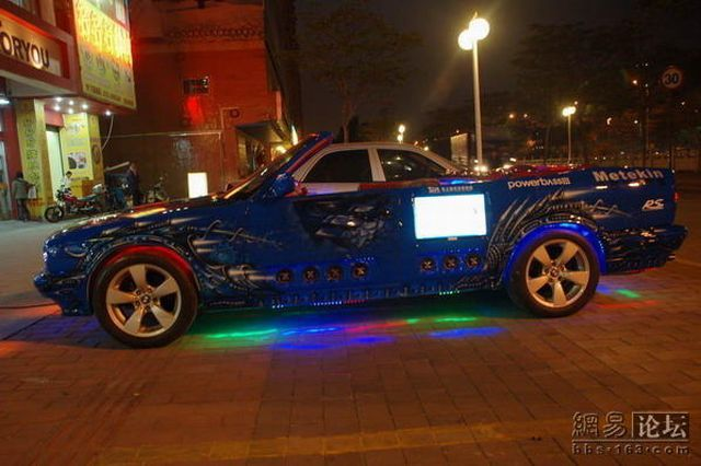 China's Most Fanatical Modified Car (8 pics)