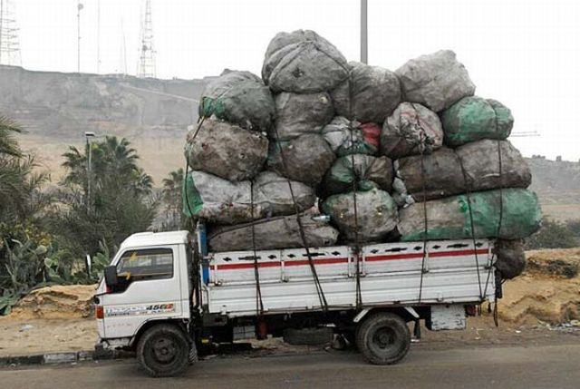 Cairo, Trash City. Part 2 (26 pics)