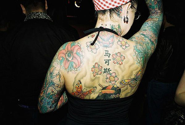 Compilation of Girls with Tattoos (51 pics)