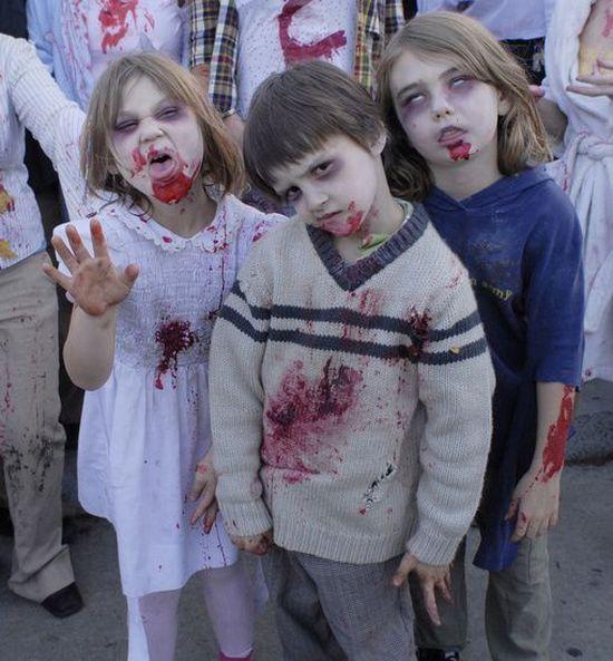 Children Zombies (16 pics)