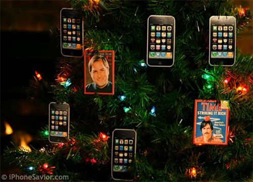 Modern Christmas Tree Decorations (14 pics)