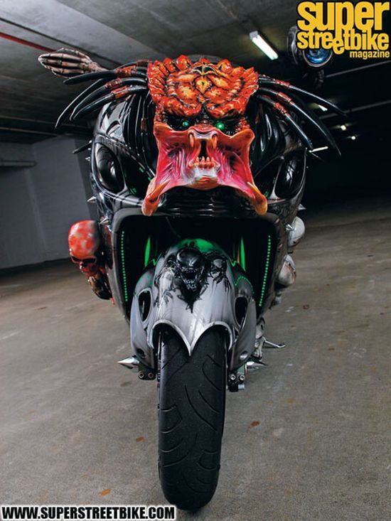 The Predator Bike! (13 pics)