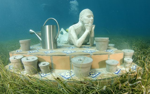 Future World's Largest Underwater Sculpture Museum (14 pics)