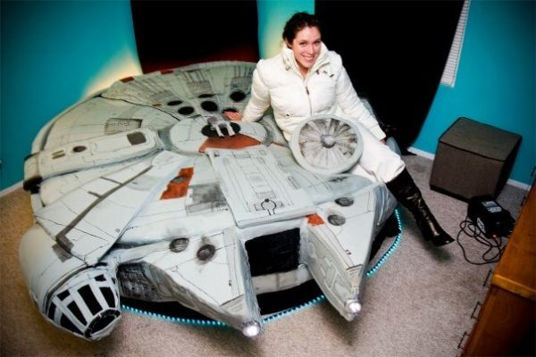 Bed for the Real Star Wars Fans (19 pics)