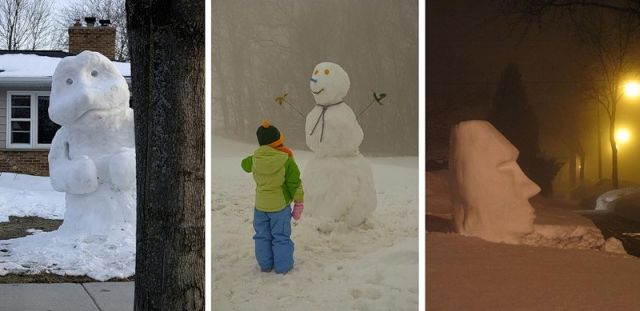 Snowmen Are Everywhere! (34 pics)