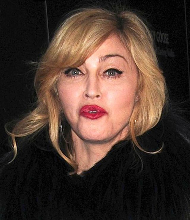 Madonna Got Dumped By Luxurious Brand Louis Vuitton (10 pics)