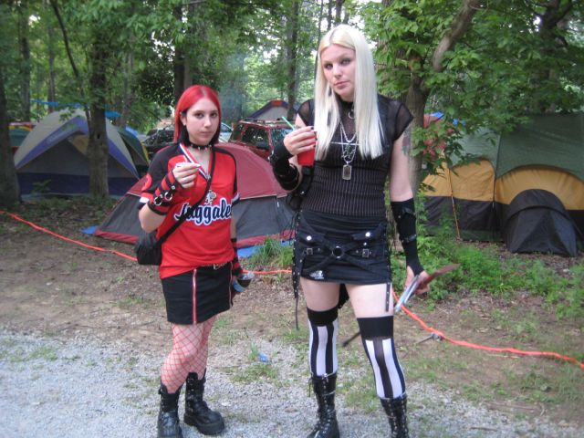 People at the Gathering of the Juggalos Festival 2009 (49 pics)