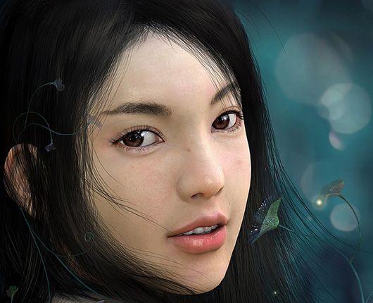 Karakter-karakter Game yang Cantik