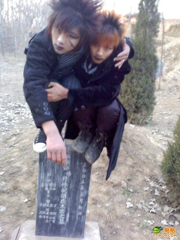 Chinese Goths (6 pics)