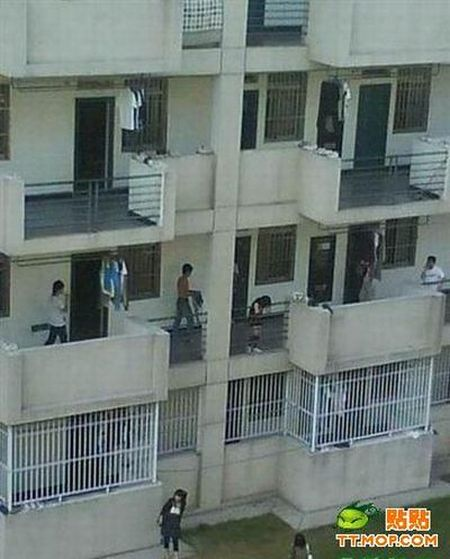 The Great Escape from the Dorm during Curfew Hours (5 pics)