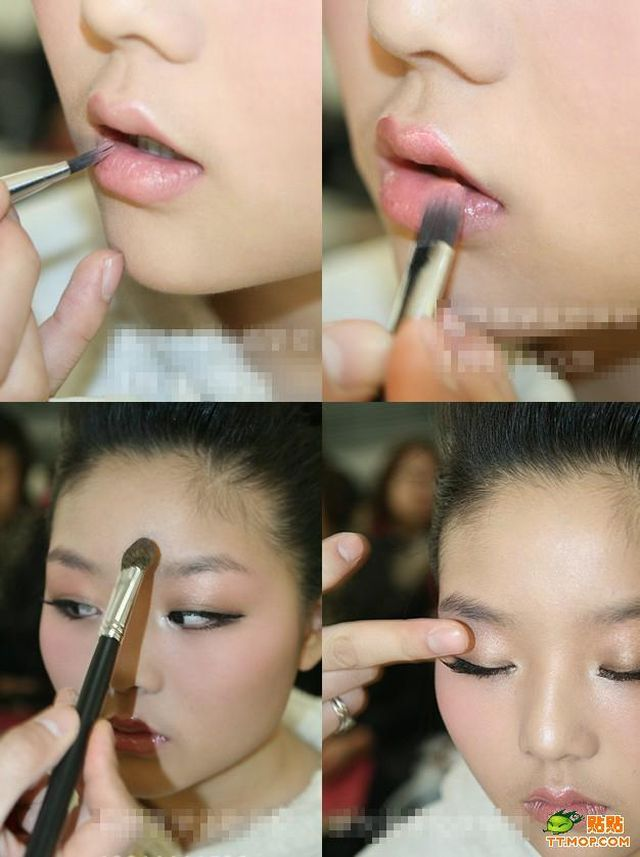 Miracles of makeup in Chinese manner 2 (16 pics)