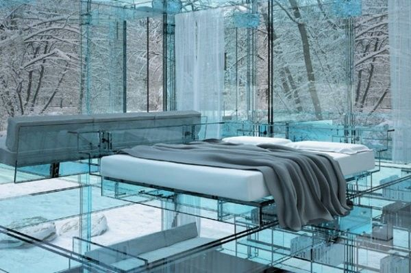 Transparent House (7 pics)
