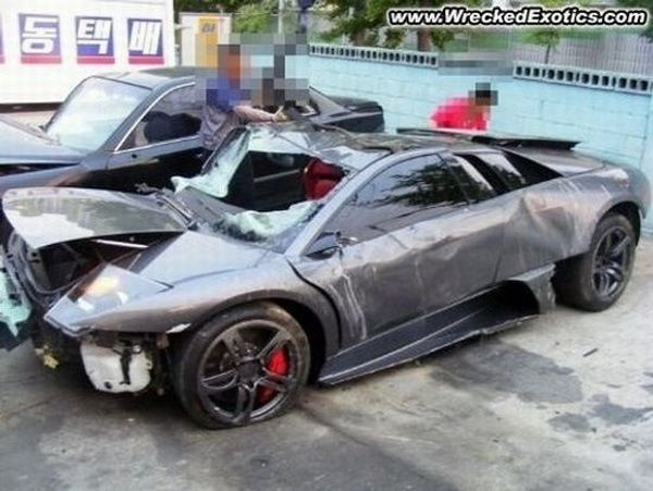 Most Expensive Car Crashes That Occurred In 2009 28 Pics