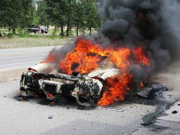 Most Expensive Car Crashes that Occurred in 2009 (28 pics)