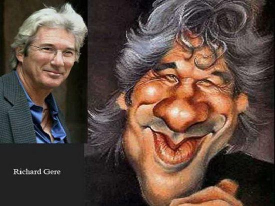 Great Celebrity Caricatures (10 pics)