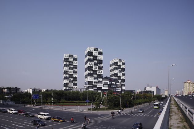 BUMPS Building Complex in Beijing (27 pics)