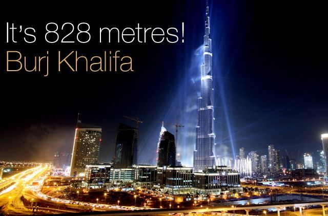 Burj Khalifa Opening Of The Tallest Building In The
