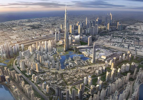 Burj Khalifa – Opening of the Tallest Building in the World (75 pics + 3 videos)