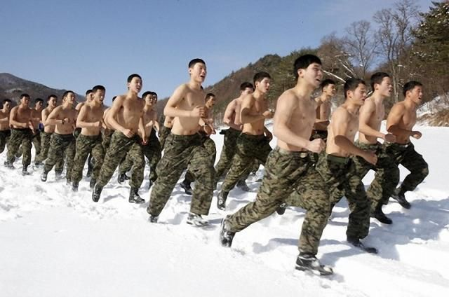 north korean army training. The Annual Winter Military