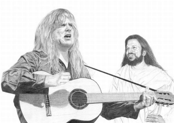 Hilarious Faces of Guitarists (33 pics)