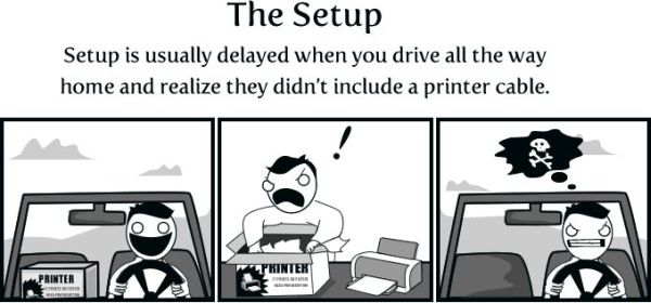 Don't You Think That Printers Come from Hell? (13 pics)