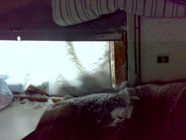 Ukrainian Trains in Winter (3 pics)