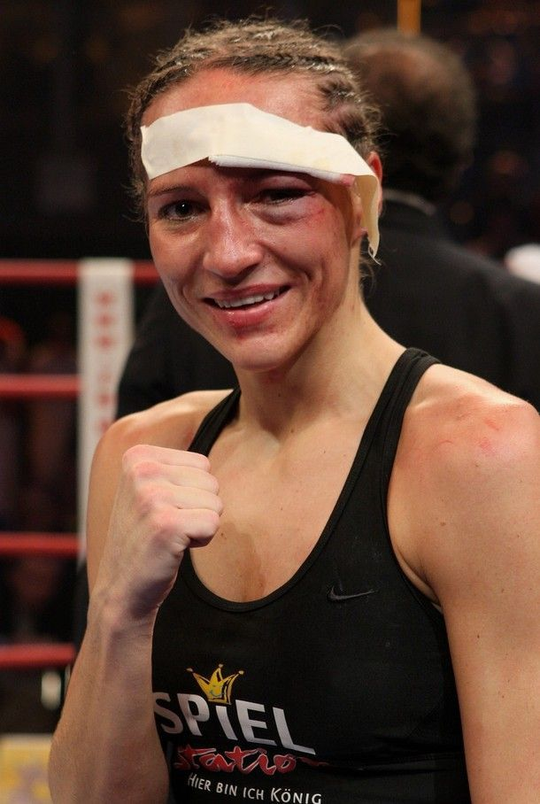 Women's Boxing Is Not Less Violent than Men's Boxing! (8 pics)