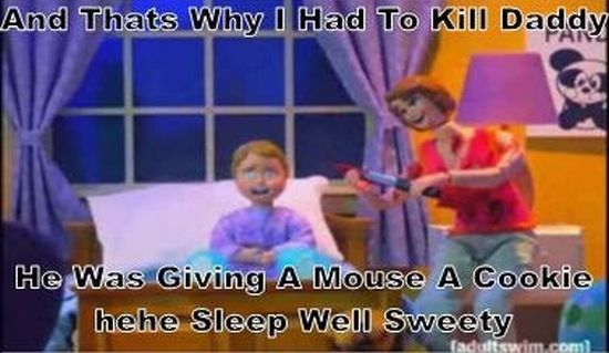 If You Give a Mouse a Cookie... (14 pics)