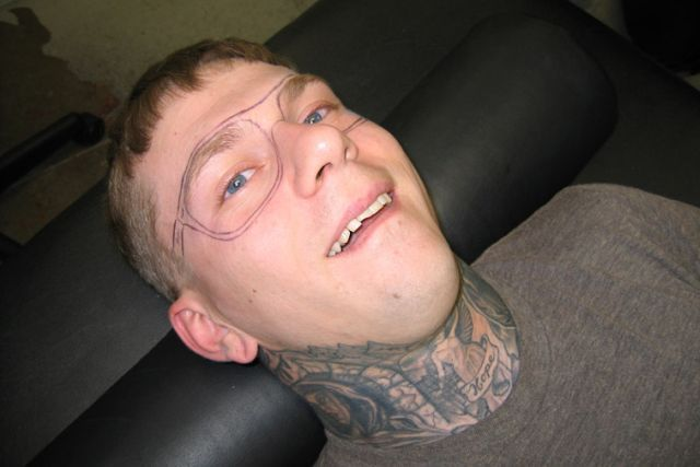 Tattoo on the Face (30 pics + 1 video)