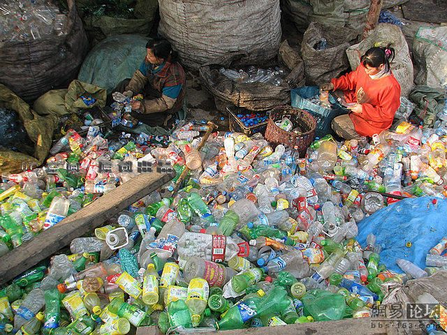 Mountains of Used Plastic Bottles (9 pics)