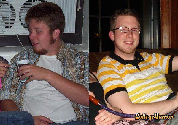 How Freshmen Change with Time (12 pics)