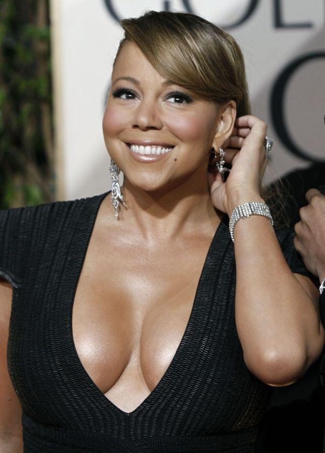 Cleavage War: Mariah Carey vs Halle Berry (12 pics ... мэрайя кэри