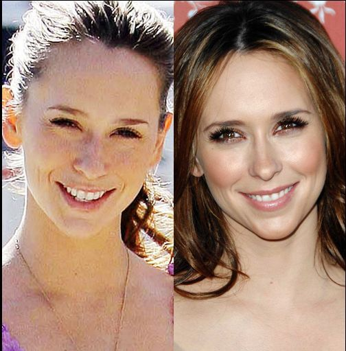Celebrities with and without Make-Up (28 pics)