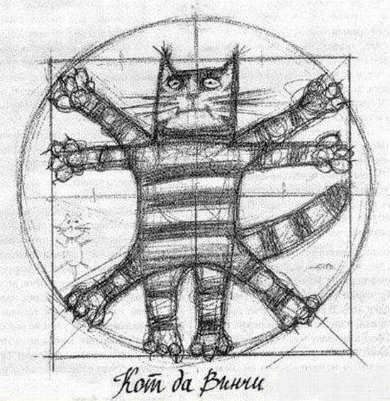 Reinventing Da Vinci's Vitruvian Man (25 pics)