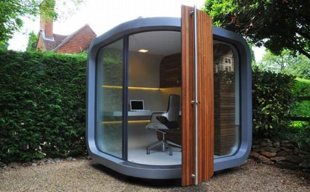 The Mobile OfficePOD (7 pics)