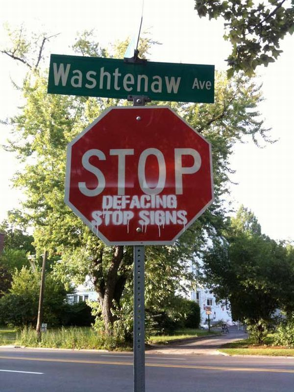 Modified STOP Signs (15 pics)