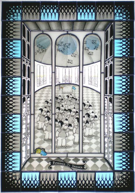 Joseph Cavalieri presented Simpson Stained Glass (10 pics)
