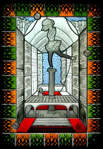 Joseph Cavalieri presented Simpson Stained Glass (10 pics)