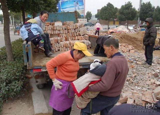 About the Hard Life of Chinese Workers (6 pics)