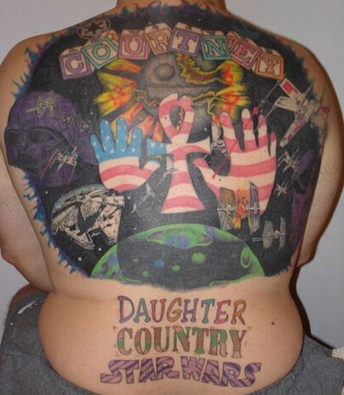 Weird Tattoos (39 pics)