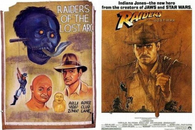 Movie Posters Drawn by Hand (68 pics)